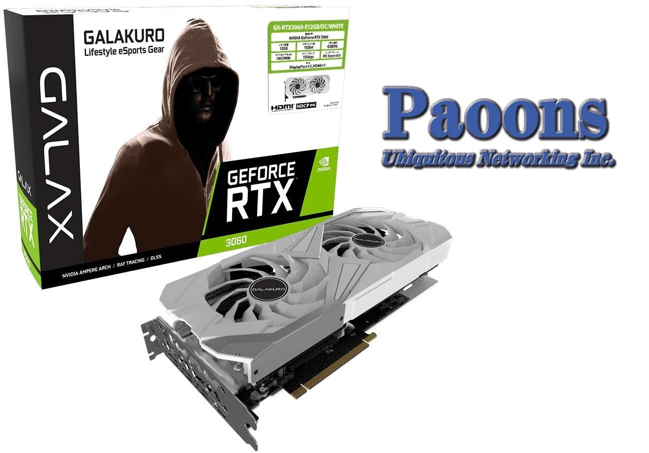 NVIDIA GeForce RTX3060 GDDR6 12GB